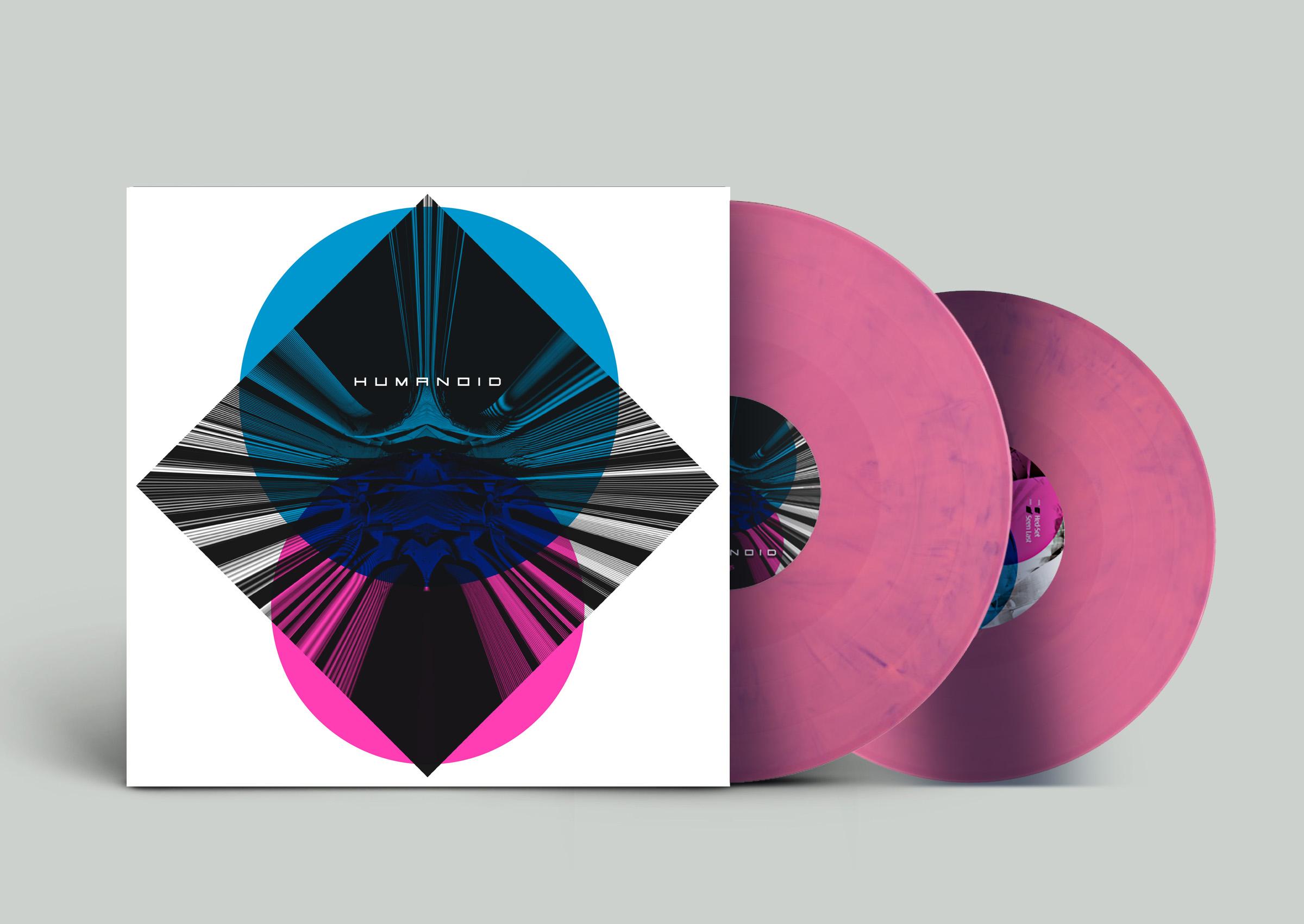 Humanoid -Cover- Pink mockup