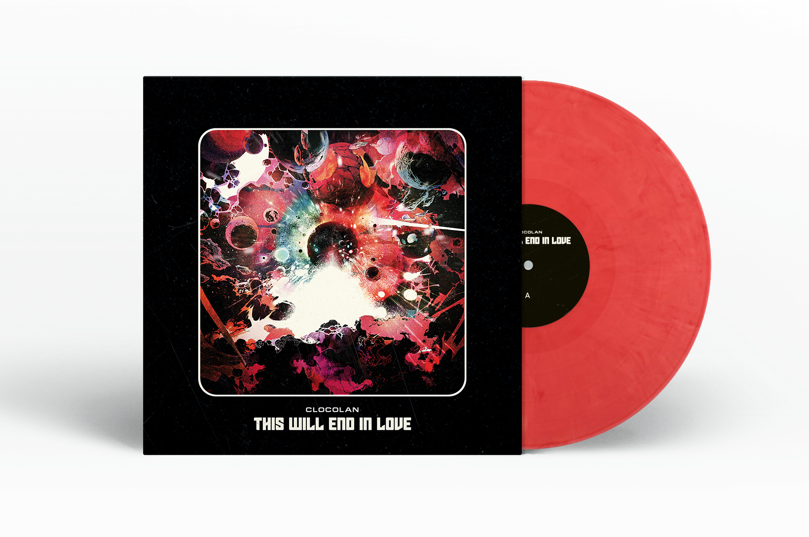 clocolan - TWEIL Pink Nebula Vinyl