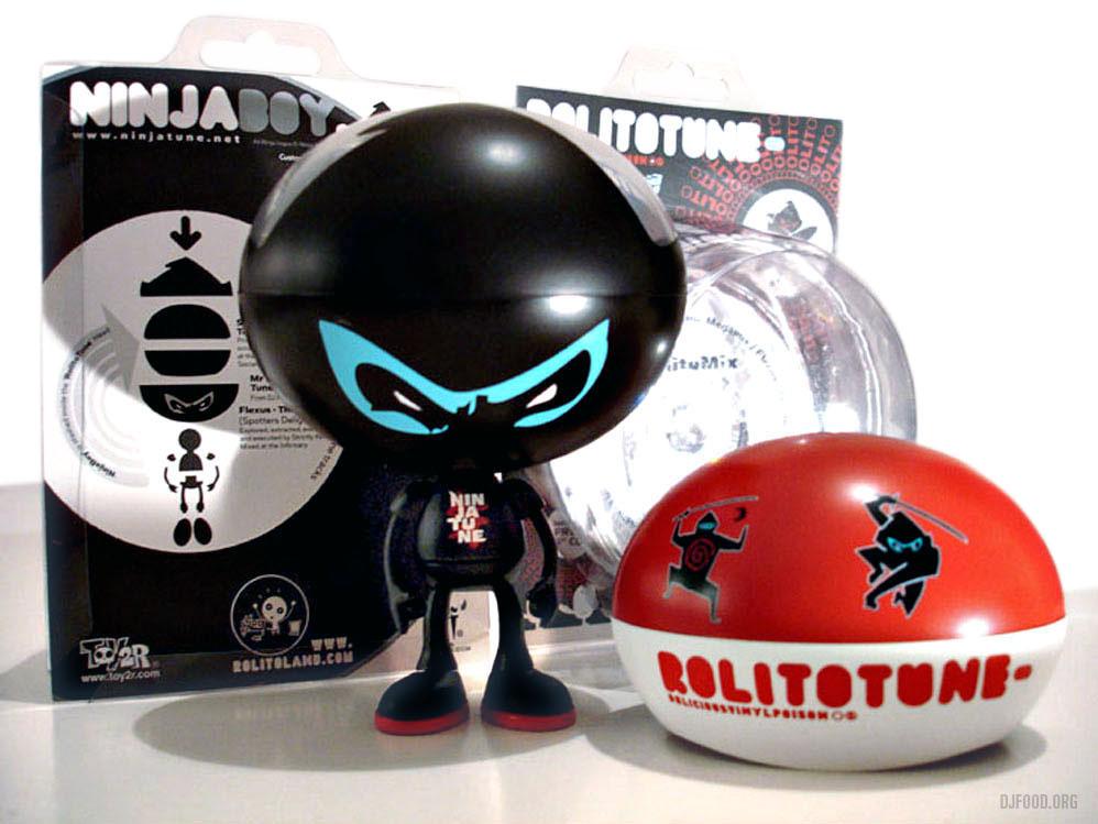 Ninja Toy + packaging x3