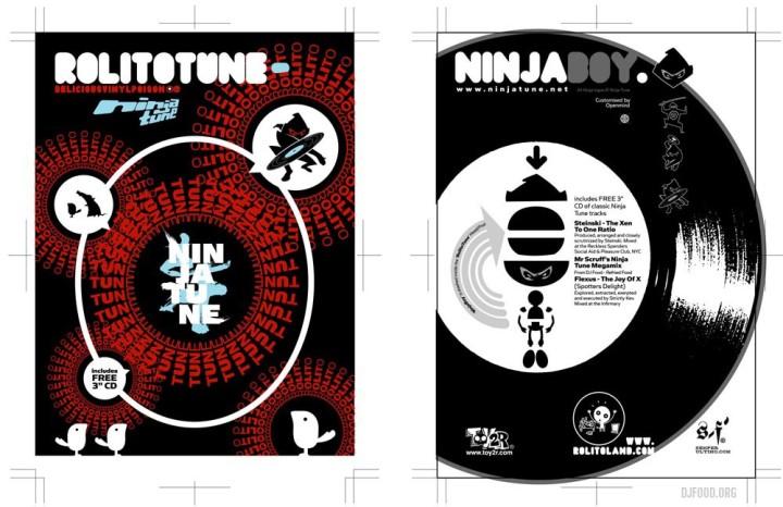 RolitoNinja-Tuneboypostcardpack