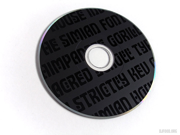 Simian CD disc