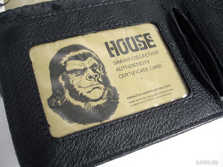 Simian inside card