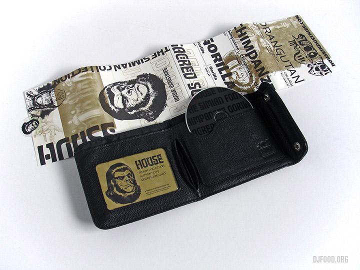 Simian wallet w band